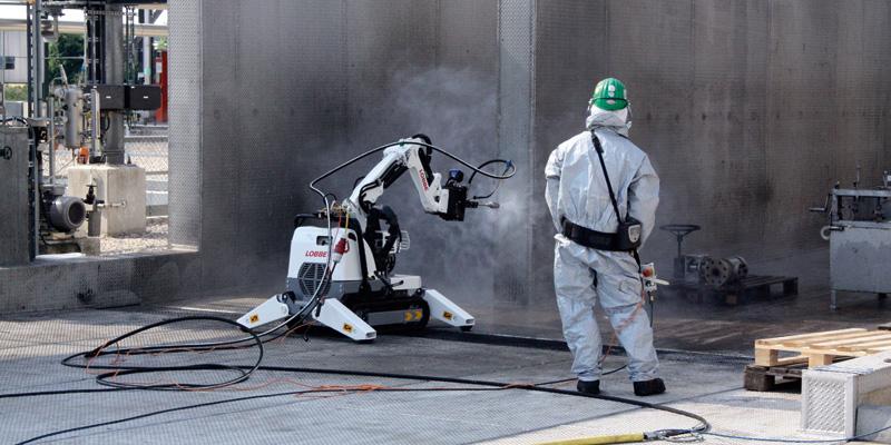 Industrieservice Remote lance Worker